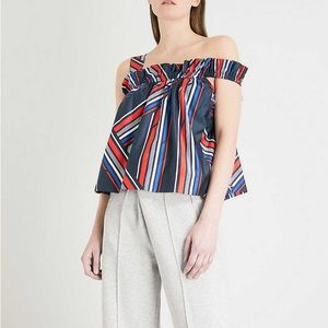 Going hadid x Tommy Hilfiger top